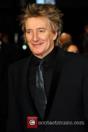 Rod Stewart Royal Film Performance 2011: Hugo in 3D at Odeon Leicester Square - Arrivals London, England - 28.11.11