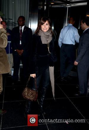 Gina Gershon Playboy hosts the New York premiere of 'The Rum Diary' at the Museum of Modern Art - Outside...