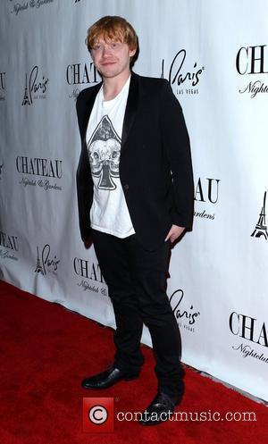 Rupert Grint Holds Belated Birthday Bash In Vegas