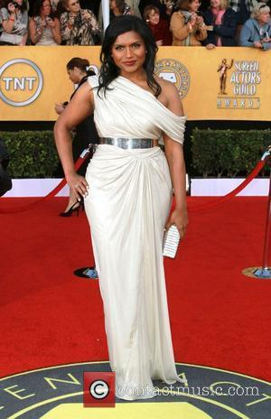 Mindy Kaling The 17th Annual Screen Actors Guild Awards (SAG Awards 2011) held at the Shrine Auditorium & Expo Center...
