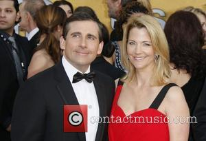 Steve Carell and his wife Nancy The 17th Annual Screen Actors Guild Awards (SAG Awards 2011) held at the Shrine...