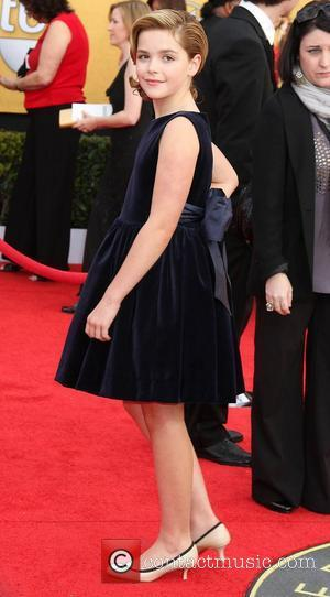 Kiernan Shipka,  The 17th Annual Screen Actors Guild Awards (SAG Awards 2011) held at the Shrine Auditorium & Expo...