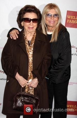 Nancy Sinatra Sr., and daughter Nancy Sinatra arriving at the 'Saving Grace B. Jones' screening at Laemmle's Sunset 5 Theater....