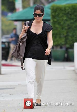 An upbeat Selma Blair leaves Urth Caffe in West Hollywood Los Angeles, California - 16.09.11