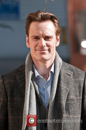 Michael Fassbender on the set of 'Shame' in the West Village New York City, USA - 01.03.11