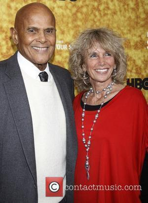 Harry Belafonte and Pamela Frank Premiere of the HBO documentary 'Harry Belafonte Sing Your Song' at the Apollo Theater -...