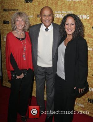 Pamela Belafonte, Gina Belafonte and Harry Belafonte Premiere of the HBO documentary 'Harry Belafonte Sing Your Song' at the Apollo...