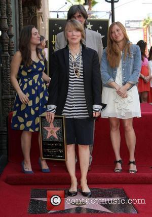 Sissy Spacek, Jack Fisk, Schuyler Fisk and Madison Fisk Sissy Spacek receives a star on the Hollywood Walk of Fame,...