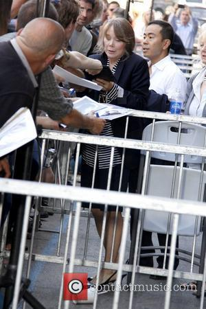 Sissy Spacek signs autographs as she receives a star on the Hollywood Walk of Fame, held on Hollywood Boulevard Los...