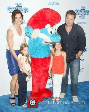 Brooke Shields,  'The Smurfs' world premiere at the Ziegfeld Theater - Arrivals New York City, USA - 24.07.11