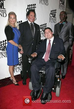Kathleen McCrone, Marc Buoniconti, Wayne Newton, Bob Beamon,  at the 28th Annual Great Sports Legends dinner held at the...