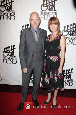 Michael Cerveris, Kimberly Kaye,  at the 28th Annual Great Sports Legends dinner held at the Waldorf-Astoria. New York City,...