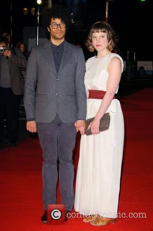 Richard Ayoade and Lydia