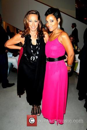 Donna Karan and Amaris Jones attend the 2011 Sustainatopia Honors presented by Plum Network  Miami Beach, Florida – 04.03.11