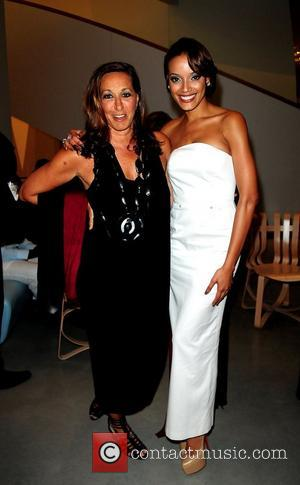 Donna Karan and Selita Ebanks