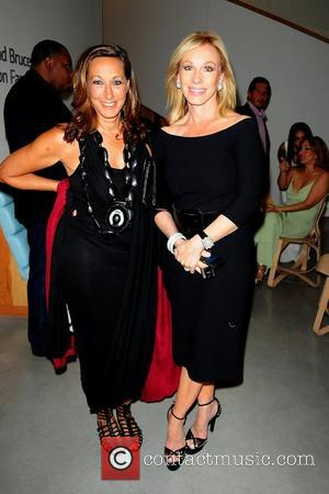 Donna Karan and Lea Black attend the 2011 Sustainatopia Honors presented by Plum Network  Miami Beach, Florida – 04.03.11