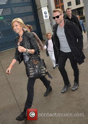 Yvonne Keating, Ronan Keating Guests arrive at the VIP entrance for Take That at Croke Park Dublin, Ireland - 18.06.11