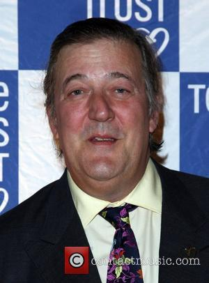 Stephen Fry 2011 Terrence Higgins Trust Gala dinner held at the Royal Courts of Justice London, England - 16.06.11