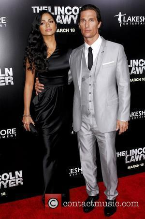 Camila Alves, Matthew McConaughey  Screening Of Lionsgate & Lakeshore Entertainment's 'The Lincoln Lawyer' at ArcLight Cinemas Cinerama Dome Los...