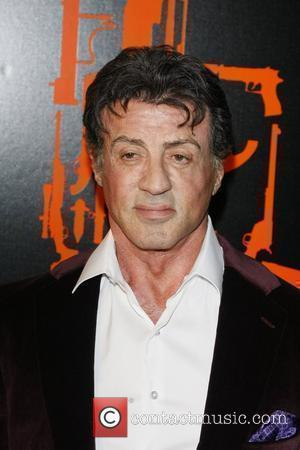 Stallone Opens First Art Exhibition