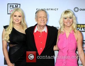 Hugh Hefner Rush-releasing Lindsay Lohan's Playboy Issue After Leak