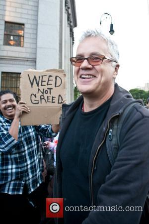 Tim Robbins Joins Wall Street March