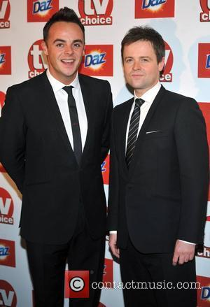 Anthony McPartlin and Declan Donnely TVChoice Awards held at the Savoy Hotel.  London, England - 13.09.11