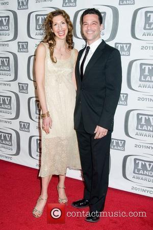 Alysia Reiner and David Alan Basche