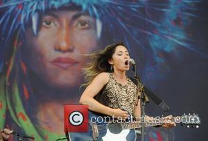 KT Tunstall  V Festival at Weston Park - Day Two  Staffordshire, England - 21.08.11