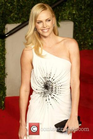 Charlize Theron 2011 Vanity Fair Oscar Party at Sunset Tower Hotel - Arrivals West Hollywood, California - 27.02.11