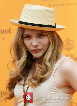 Chloe Moretz The Veuve Clicquot Gold Cup Final at Cowdray Park Polo Club - Arrivals West Sussex, England - 17.07.11