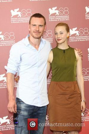 Michael Fassbender and Sarah Gadon The 68th Venice Film Festival - Day 3 - 'A Dangerous Method' photocall  Venice,...