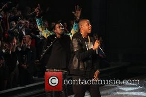 Kanye West and Jay-Z 2011 Victoria's Secret Fashion Show at the Lexington Avenue Armory - Performance New York City, USA...