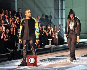 Kanye West, Jay-Z 2011 Victoria's Secret Fashion Show at the Lexington Avenue Armory - Performance New York City, USA -...
