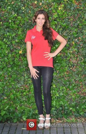 Stacey Solomon Virgin Active London Triathlon - photocall held at Virgin Active, Bromyard Avenue. London, England - 07.06.11