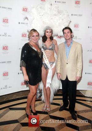 Angelina Freedman, Caesars Entertainment Model Ashley Scott and Ryan Freedman The Association of Community Employment Programs for the Homeless Presents...