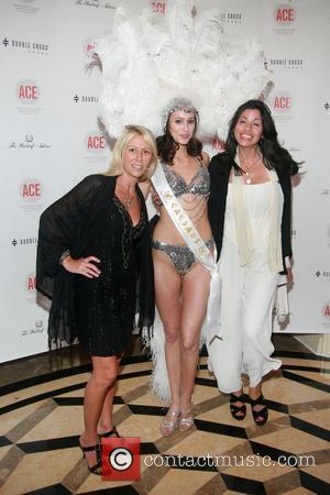 Kimberly Cooper, Caesars Entertainment Model Ashley Scott and Sandra Ripert  The Association of Community Employment Programs for the Homeless...