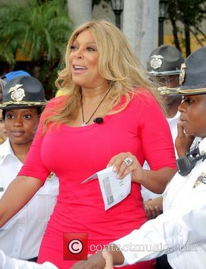 Wendy Williams is welcomed by a large crowd as she kicks off her 'Say It Like You Mean It Summer...