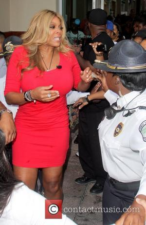 Wendy Williams  is welcomed by a large crowd as she kicks off her 'Say It Like You Mean It...