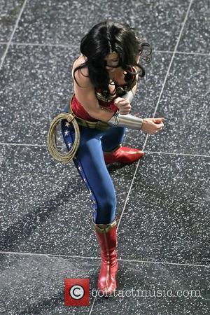 Adrianne Palicki filming scenes for 'Wonder Woman'   Hollywood, California - 31.03.11