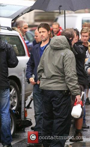 Brad Pitt Rescues Extra On Set Of New Movie
