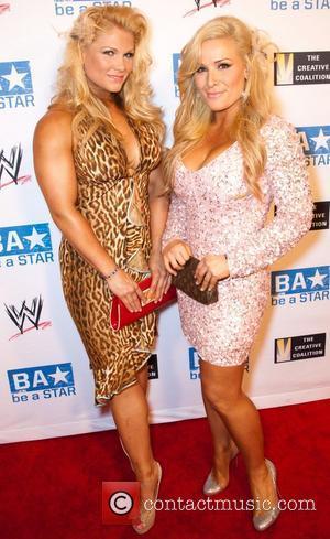 Beth Phoenix and Natalya WWE's SummerSlam Kickoff Party at The Andaz Hotel Los Angeles, California - 11.08.11