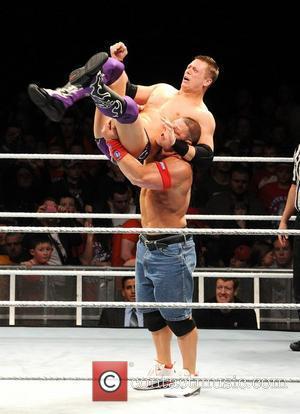 John Cena and The Miz WWE RAW Wrestling Superstars at The O2 Arena Dublin, Ireland - 15.04.11