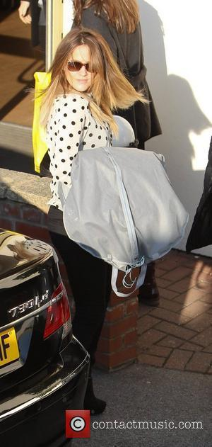 Caroline Flack 'The X Factor' finalists arrive at the shows studios ahead of tonight's live show  London, England -...