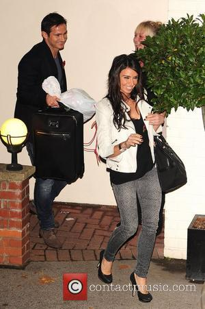 Frank Lampard and Christine Bleakley celebrities outside the X Factor Studios  London, England - 12.11.1