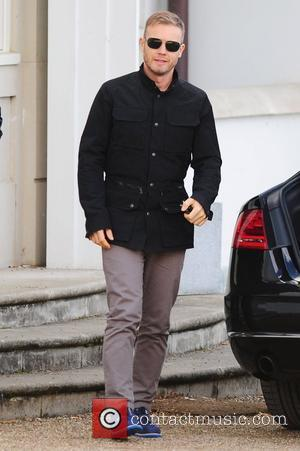 Gary Barlow at the X Factor House England - 19.10.11