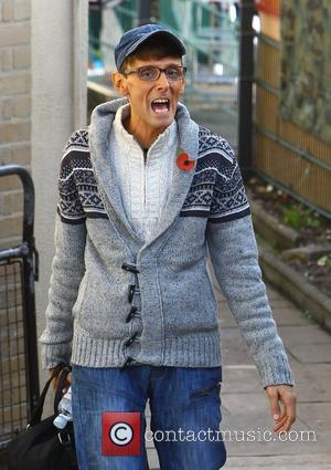 X Factor finalist Johnny Robinson arriving at rehearsals London, England - 04.11.11