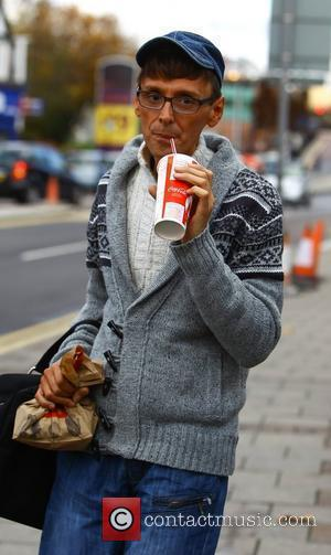 X Factor finalist Johnny Robinson goes to McDonalds before rehearsals London, England - 04.11.11