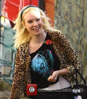 X Factor finalist Kitty Brucknell arriving at rehearsals London, England - 04.11.11