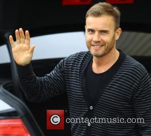 Gary Barlow arriving at the X Factor rehearsal studios London, England - 04.11.11